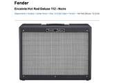 Fender Hot Rod Deluxe 112 Enclosure - Tweed