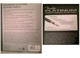 Fender Premium Platinum 12' Guitar Cable