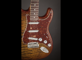 Fender Spalted Maple Top Artisan Stratocaster Maple