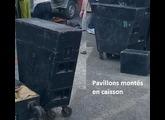 Fostex pavillons bois massif + raccords fostex HA51