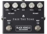 Free The Tone Black Vehicle Bass Overdrive BV-1V