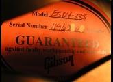 Gibson 1963 ES-335 Block Reissue Cherry 2013 Edition