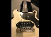 Gibson [Guitar of the Week #41] Nashville Les Paul Jr. Double Cutaway - White Satin (5484)
