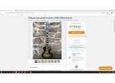 Gibson Les Paul Custom Silverburst [1978-1983]