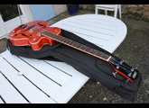 Gretsch G5123B Hollowbody Electroacoustic Bass - Western Orange