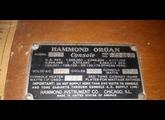 ORGAN HAMMOND C2-B3 E