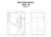 Hornplans marc.o MHB-46