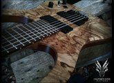 Hufschmid Guitars H7 Old Growth Spalted Maple top
