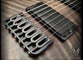 Hufschmid Guitars H7SC highly figured Bastogne walnut top