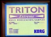 Korg Triton Extreme 76
