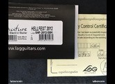 Lâg SHF-2012-SBK - Arkane Hellfest 2012 Limited Edition