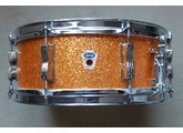 Ludwig Drums WFL transition badge Gold Sparkle