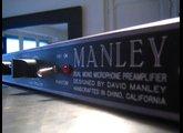 Manley Labs Dual Mono Mic Pre 40dB