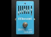 Maxon GE601 Graphic Equalizer Reissue