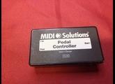 Midi Solutions Pedal Controller