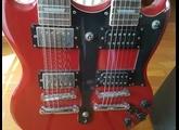 No Name Guitare Électrique Double-Manche