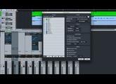 Bounce Mixdown Studio One