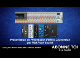 Red Rock Sound LaunchBox Effect Processor