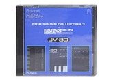 Roland PN-JV80-06 - Rich Sound Collection 3