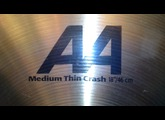 Sabian AA Medium Thin Crash 18""