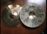 """Sabian AAX Studio Hats 14"""""""