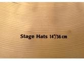 "Sabian HHX Stage Hats 14"""