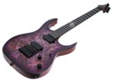 Solar Guitars S1.6 PP - Poplar Purple Burst Matte