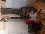 Squier Standard Deluxe Stratocaster FMT / QMT