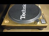 Technics SL-1200 MK2 GOLD LIMITED