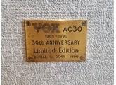 Vox AC30TB 30th Anniversary Top Boost
