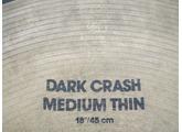 """Zildjian K Dark Crash Medium Thin 18"""""""