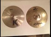 "Zildjian K/Z Custom HiHats 13"""