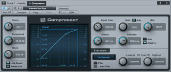 La compression dans le mixage audio