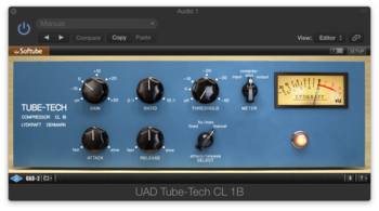 Universal Audio Softube Tube Tech CL-1B Compressor