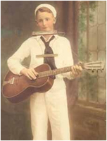 Young Les Paul aka Rhubarb Red
