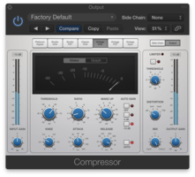 La compression lors du mixage audio