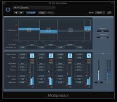 Compresseur multibande en mixage audio