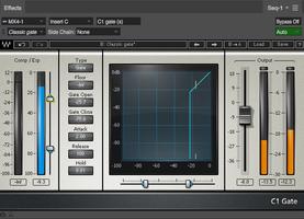 Le noise gate en mixage audio