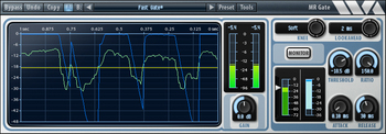 Noise gate en mixage audio