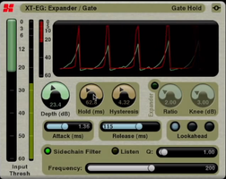 Le noise gate en mixage audio