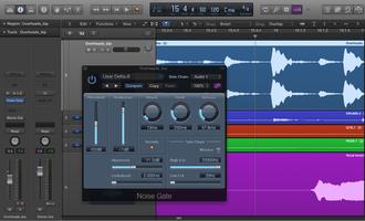 Noise gate pour le mixage audio