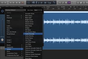 Les presets dans le mixage audio