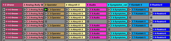Ableton Push 2 et Live 9.5 : clips