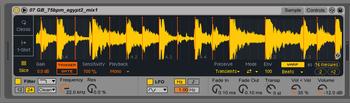 Ableton Push 2 et Live 9.5 : simpler 1