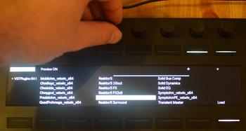Ableton Push 2 et Live 9.5 : browser