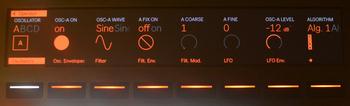 Ableton Push 2 et Live 9.5 : oscillateur