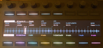 Ableton Push 2 et Live 9.5 : tranche