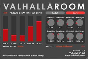 Valhalla DSP ValhallaPlate : VR