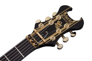 synyster gates s blk gold headstock highres