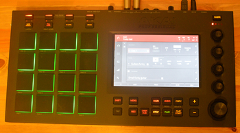 Akai MPC Touch : general